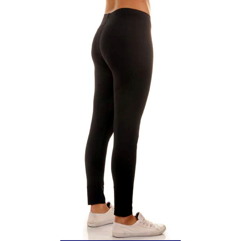 Vista lateral leggin poliamida