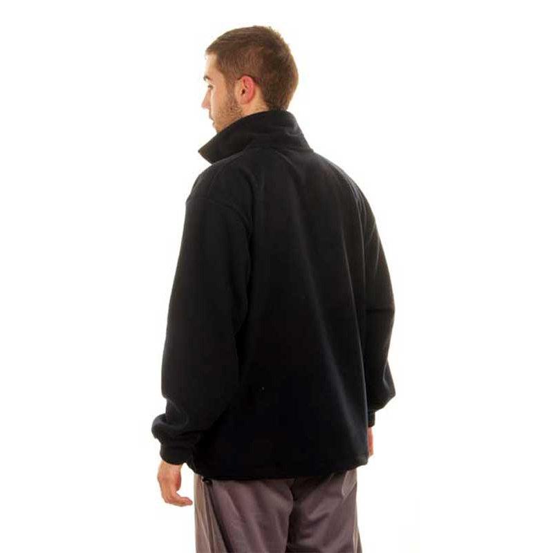 Vista trasera chaqueta polar